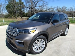 New 2021 Ford Explorer Limited SUV For Sale in Denton, TX