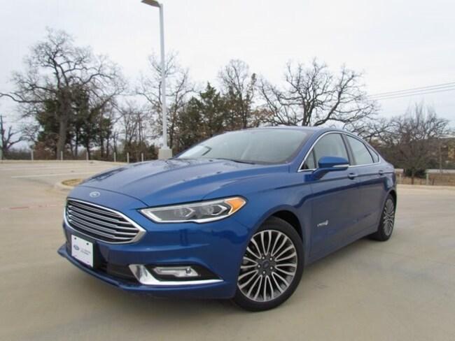 Used 2017 Ford Fusion Hybrid Titanium Sedan in Denton, TX