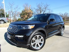 New 2020 Ford Explorer Platinum SUV For Sale in Denton, TX
