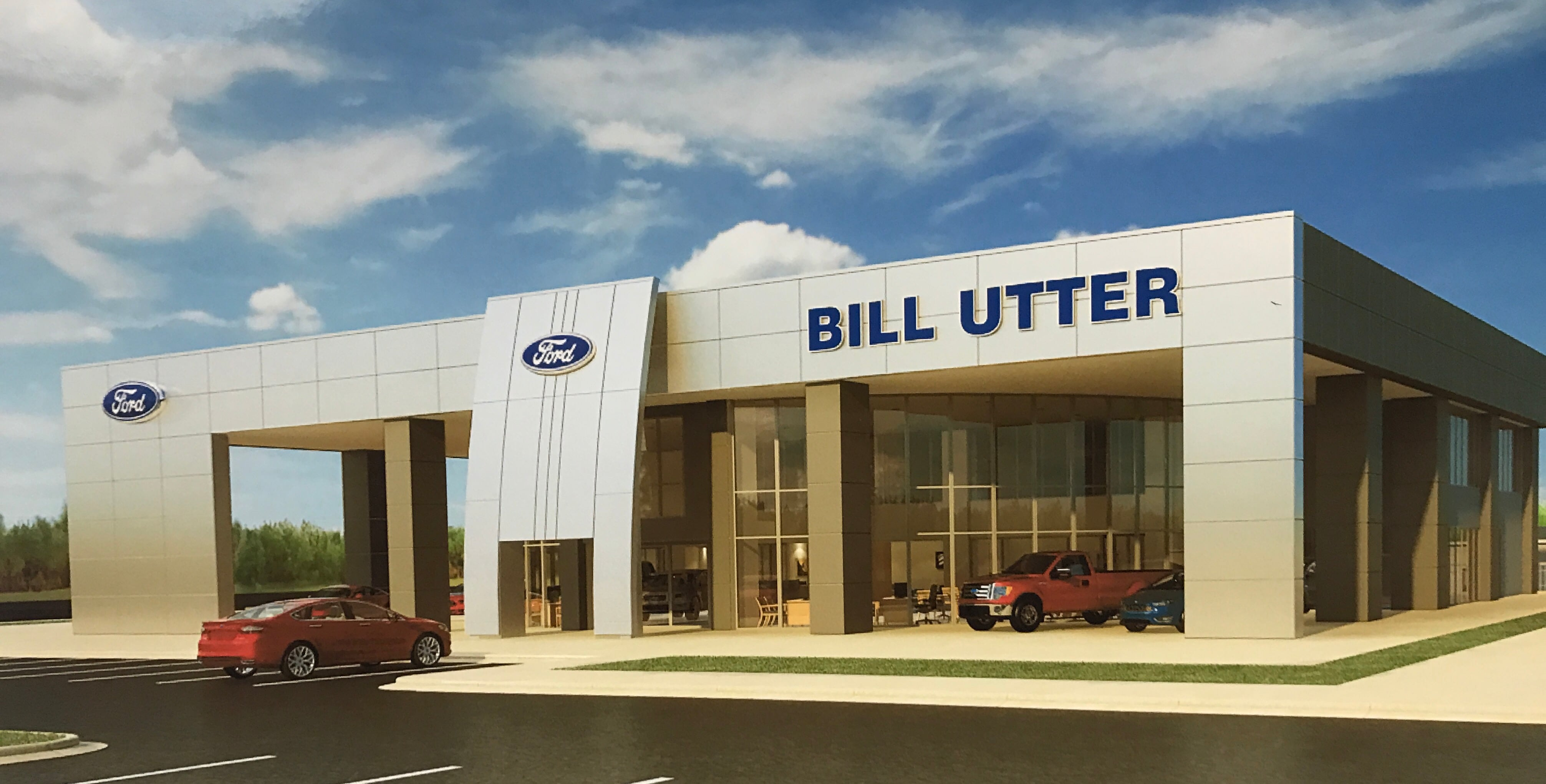 Ford Service & Repair Center In Denton, TX | Bill Utter Ford