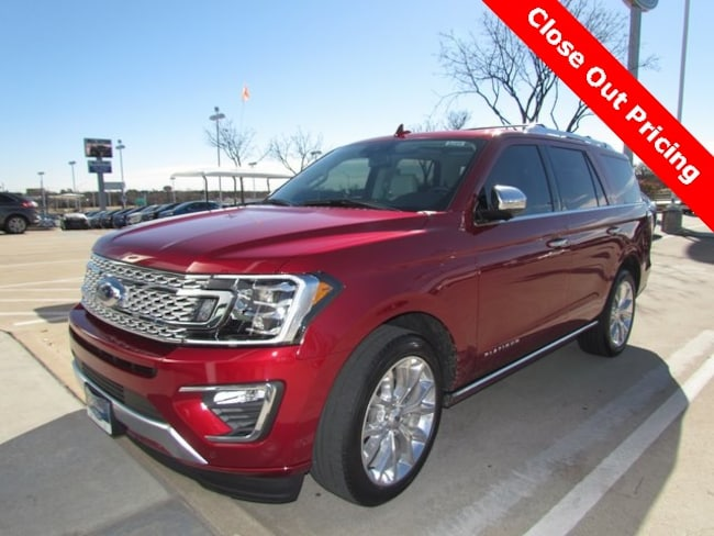 New 2019 Ford Expedition Platinum SUV For Sale/lease in Denton, TX
