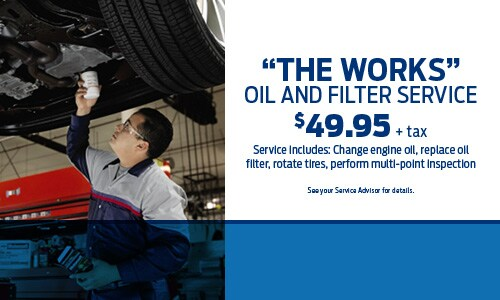 The Works Oil and Filter Service