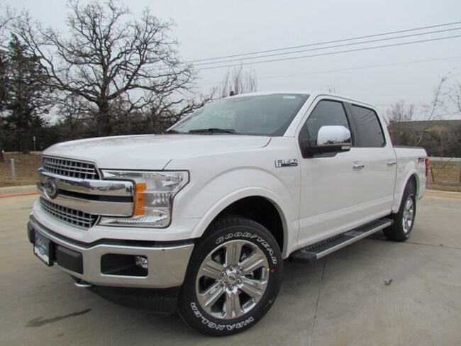New 2019 Ford F-150 Lariat Truck For Sale/lease in Denton, TX