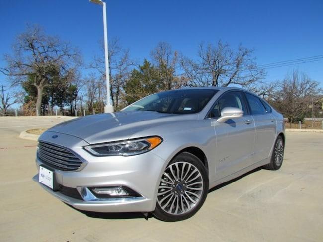 Used 2018 Ford Fusion Hybrid Titanium Sedan in Denton, TX