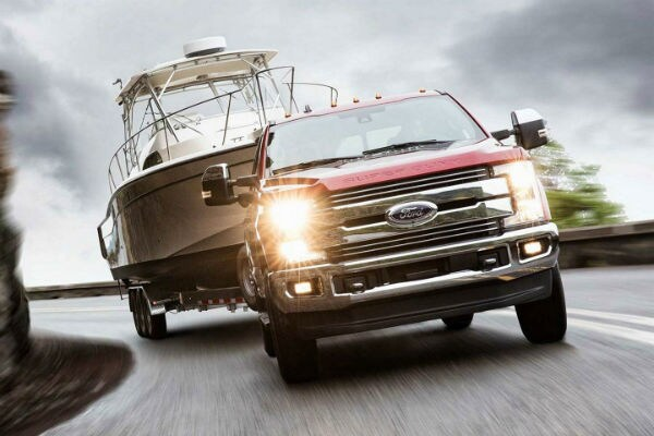 2019 Ford F-250 Super Duty towing boat Durant, OK Bill Utter Ford