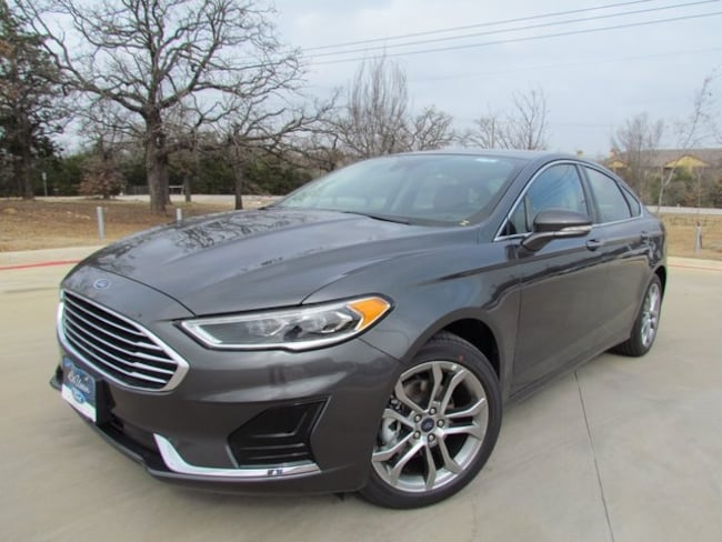 New 2019 Ford Fusion SEL Sedan in Denton, TX