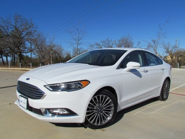 Used 2018 Ford Fusion Titanium Sedan in Denton, TX