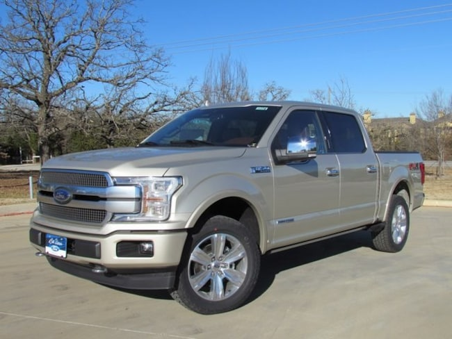 New 2018 Ford F-150 Platinum Truck For Sale/lease in Denton, TX