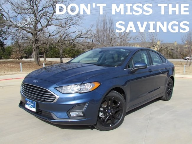 New 2019 Ford Fusion SE Sedan For Sale/lease in Denton, TX
