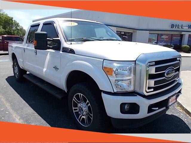 2016 Ford F-250SD Platinum Truck