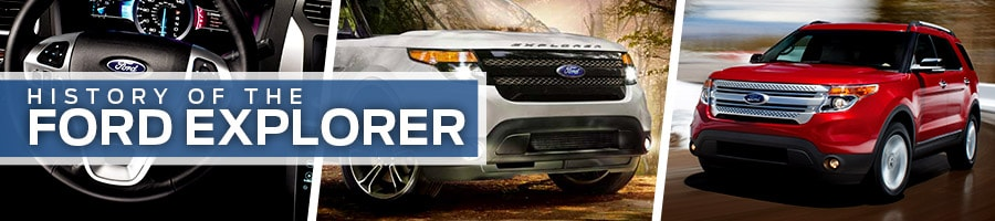 History of the Ford Explorer