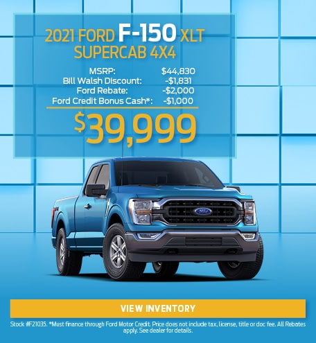 2021 Ford F-150 XLT SuperCab 4x4