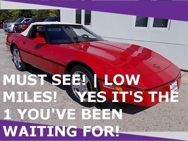 1986 Chevrolet Corvette Base Convertible