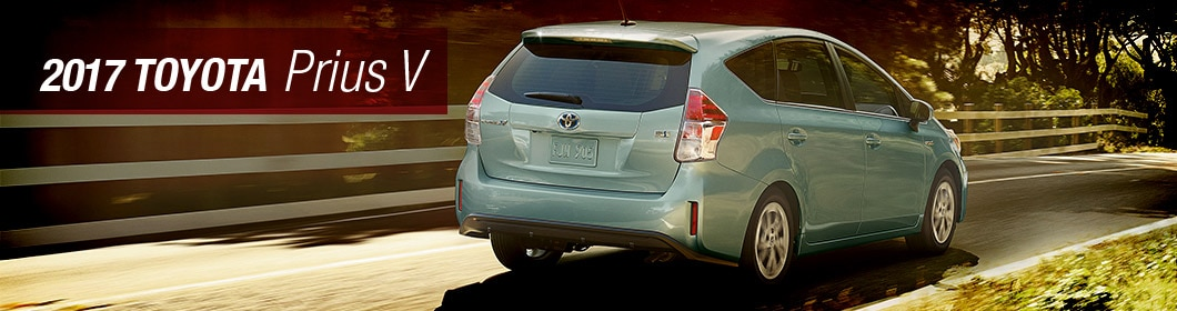 2017 Toyota Prius V Model Overview