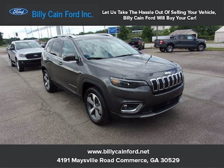 2021 Jeep Cherokee Limited Limited 4x4