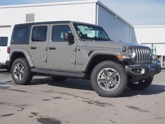 New 2019 Jeep Wrangler UNLIMITED SAHARA 4X4 Sport Utility in Lynchburg
