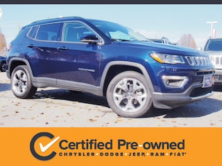 Used 2018 Jeep Compass Limited 4x4 SUV in Lynchburg, VA