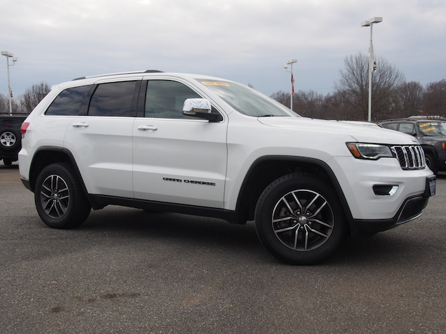 Certified Used 2017 Jeep Grand Cherokee Limited 4x4 SUV in Lynchburg, Virginia
