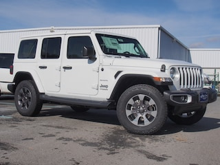 New 2019 Jeep Wrangler UNLIMITED SAHARA 4X4 Sport Utility in Lynchburg, VA