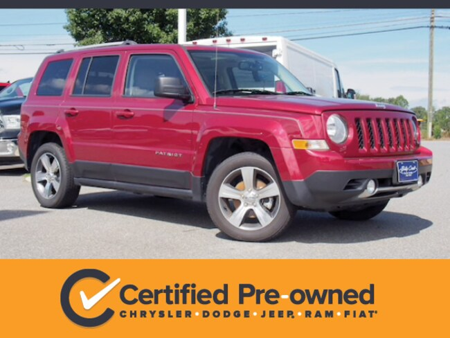 Certified Used 2017 Jeep Patriot Latitude FWD SUV in Lynchburg, Virginia