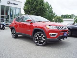 New 2018 Jeep Compass LIMITED 4X4 Sport Utility in Lynchburg, VA