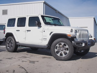 New 2019 Jeep Wrangler UNLIMITED SAHARA 4X4 Sport Utility in Lynchburg, VA