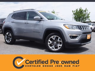 Used 2019 Jeep Compass Limited SUV in Lynchburg, VA