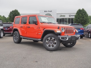 New 2018 Jeep Wrangler UNLIMITED SAHARA 4X4 Sport Utility in Lynchburg, VA