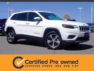Used 2019 Jeep Cherokee Limited 4x4 SUV in Lynchburg, VA