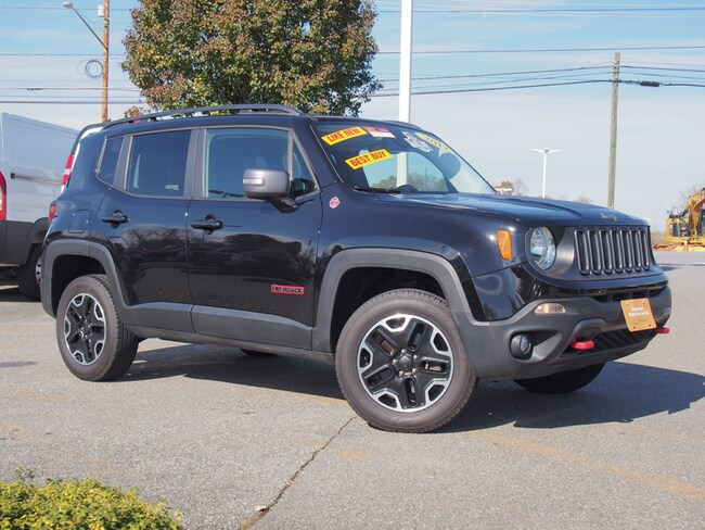 Certified Used 2017 Jeep Renegade Trailhawk 4x4 SUV in Lynchburg, Virginia