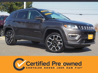 Used 2018 Jeep Compass Limited SUV in Lynchburg, VA