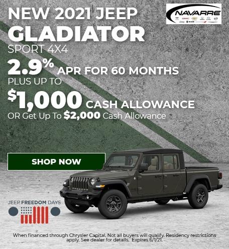 May   2021 Gladiator