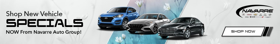 May | Shop New Vehicle Specials