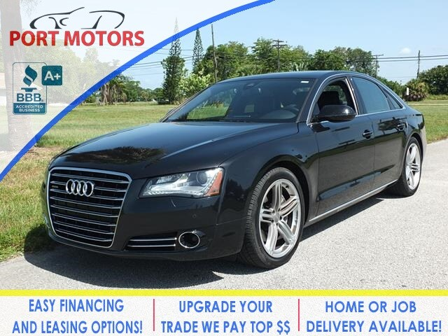 Used 2013 Audi A8 For Sale at Port Motors | VIN: WAUAGAFD8DN000818