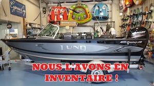 2017 LUND BOAT CO Bateau Crossover XS 1875