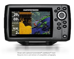2018 JOHNSON HUMMINBIRD HELIX 5 CHIRP DI GPS G2 w/ Navionics Card