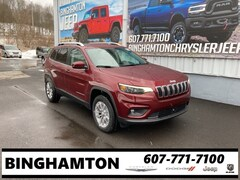 New 2021 Jeep Cherokee LATITUDE LUX 4X4 Sport Utility for sale in Binghamton, NY