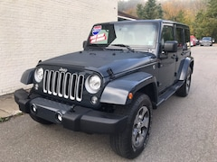 Used 2017 Jeep Wrangler Unlimited Sahara 4x4 SUV for sale in Cobleskill, NY