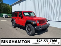 New 2021 Jeep Wrangler UNLIMITED RUBICON 4X4 Sport Utility for sale in Binghamton, NY