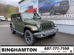 New 2021 Jeep Wrangler UNLIMITED SAHARA ALTITUDE 4X4 Sport Utility for sale in Binghamton, NY