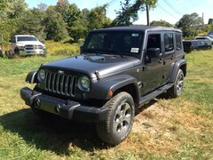 Used 2016 Jeep Wrangler Unlimited Sahara 4x4 SUV for sale in Cobleskill, NY