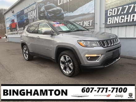 Used 2018 Jeep Compass Limited SUV for sale in Binghamton, NY