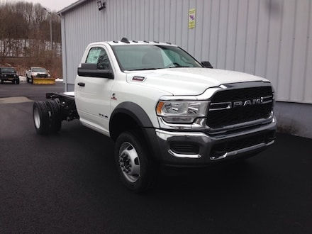 New 2020 Ram 5500 Chassis Cab 5500 TRADESMAN CHASSIS REGULAR CAB 4X4 84 CA Regular Cab for sale in Binghamton, NY