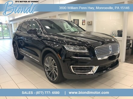2019 Lincoln Nautilus Reserve AWD SUV w/2.7L Engine, Tech and Driver Assist Pkg's &