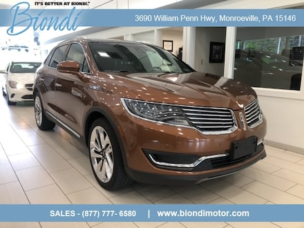 2017 Lincoln MKX Black Label AWD SUV w/2.7L Engine, Climate, Tech and Driver Assist