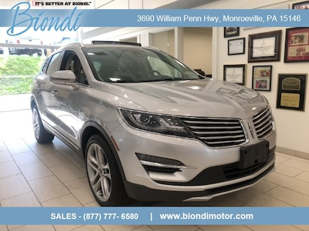 2018 Lincoln MKC Reserve AWD SUV w/Climate