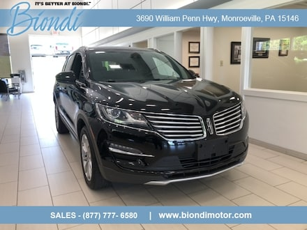 2018 Lincoln MKC Select Plus AWD SUV w/Climate Pkg