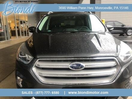 2018 Ford Escape Titanium 4x4 SUV w/Panoramic Roof, Safe and Smart Package, 19in