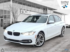 2018 BMW 3 Series 330i Xdrive -- All Wheel Drive! Nav! Sedan