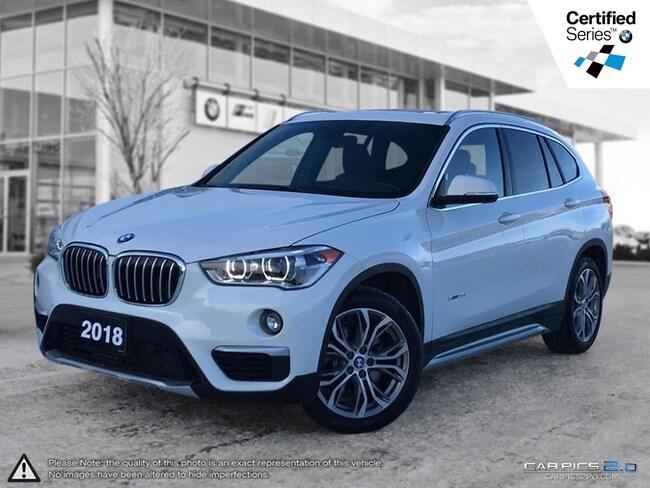 2018 BMW X1 Xdrive28i -- On-Board Navigation - Satellite Radio SAV